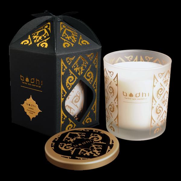świeca do aromaterapii i masażu